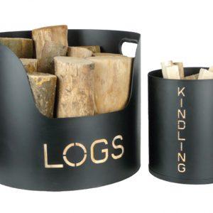 Log & Kindling Tubs