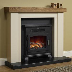 Bracken Electric Fireplace