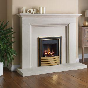 Slim 3 Aylesbury EliteTrim Stone Fireplace